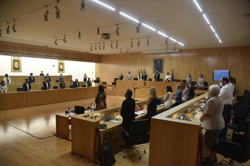 Pleno Diputación Málaga 22 septiembre 2021
